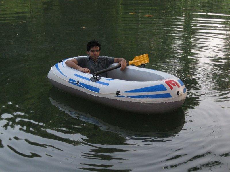 in my boat