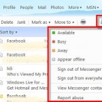 MSN Messenger integrrated to Hotmail