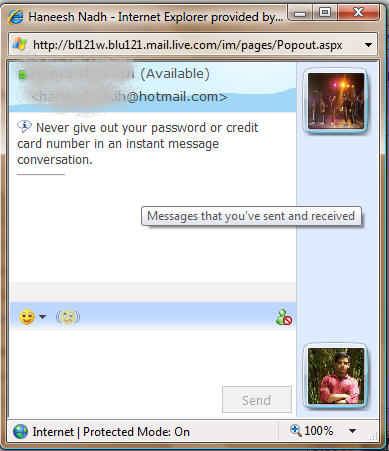 Integrated IM in Hotmail, Yahoo and Gmail | bugs of a debugger