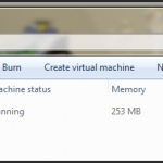 Installed virtual machines