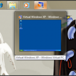 Running XP in windows 7 XP mode