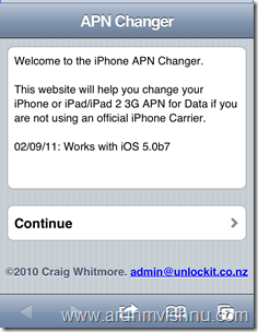 How to change APN settings in iPhone iOS Beta 7 | bugs of a